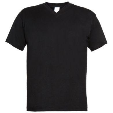 Купити Чоловічі футболки з V-подібним вирізом MITSUBISHI
