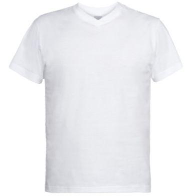 Купити Чоловічі футболки з V-подібним вирізом Міняю руку і серце