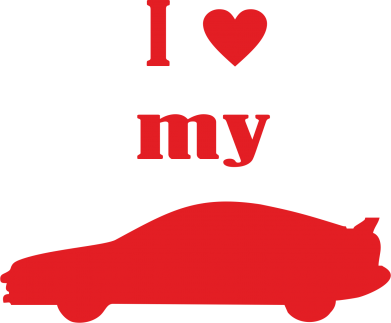 Купити Фартуx I love my car