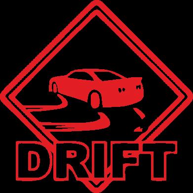 Купити Наклейка Drift
