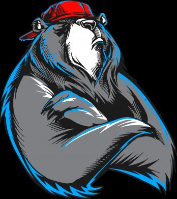 Купити Камуфляжна футболка ведмідь