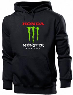 Купити Толстовка чоловіча чорна (S) Honda Monster Energy