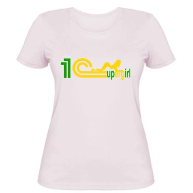Жіноча футболка 1Cupergirl 2