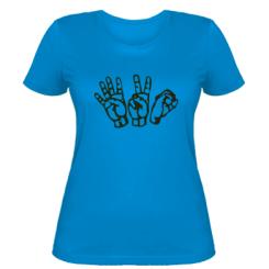Жіноча футболка 4:20 (чотири двадцять)