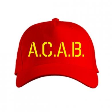 Кепка A.C.A.B.