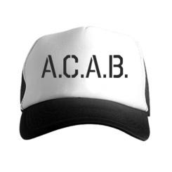 Кепка-тракер A.C.A.B.