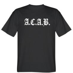 Футболка A.C.A.B