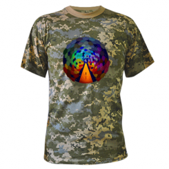 Камуфляжна футболка Абстракция