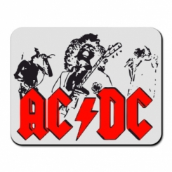 Купити Килимок для миші AC DC