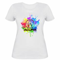 Жіноча футболка Acura Art
