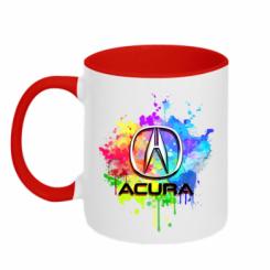 Кружка двокольорова Acura Art