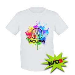 Дитяча футболка Acura Art