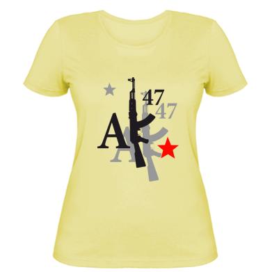 Жіночі футболки АК-47 - купити футболку АК-47 в Києві ebae5f8430d8b