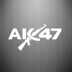 Наклейка AK47
