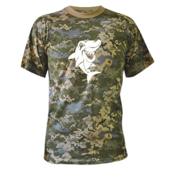 Купити Камуфляжна футболка Акулка
