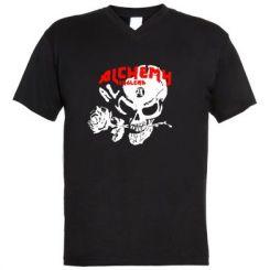 Купити Чоловічі футболки з V-подібним вирізом Alchemy England