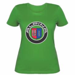 Купити Жіноча футболка Alpina