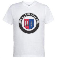 Купити Чоловіча футболка з V-подібним вирізом Alpina