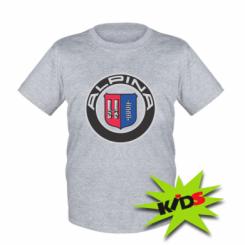 Купити Дитяча футболка Alpina