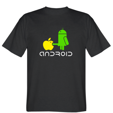 Футболка Android fuck Apple
