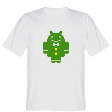 Футболка Android костюмі