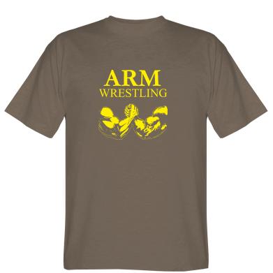 Футболка Arm Wrestling