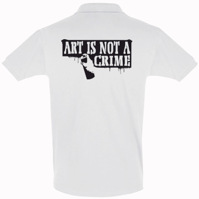 Футболка Поло Art is not crime