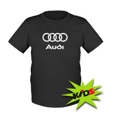 Купити Дитяча футболка Audi