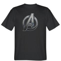 Футболка Avengers Steel Logo