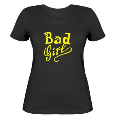 Жіноча футболка Bad Girl
