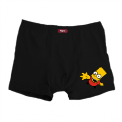 Чоловічі труси Барт Симпсон