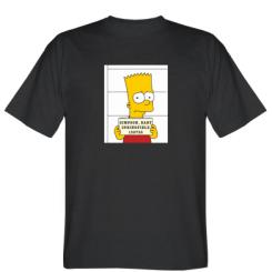 Футболка Барт в тюрязі