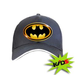 Детская кепка Batman logo Gold