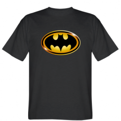 Футболка Batman logo Gold