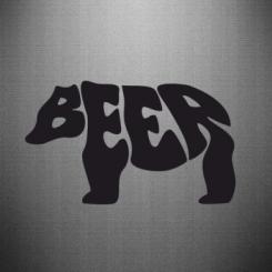 Купити Наклейка Beer