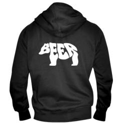 Купити Чоловіча толстовка на блискавці Beer