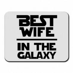 Купити Килимок для миші Best wife in the Galaxy
