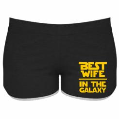 Купити Жіночі шорти Best wife in the Galaxy