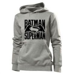 Толстовка жіноча Бетмен vs. Супермен