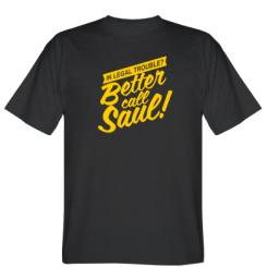 Футболка Better call Saul!