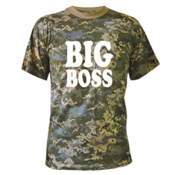 Купити Камуфляжна футболка Big Boss