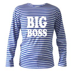 Купити Тільняшка з довгим рукавом Big Boss