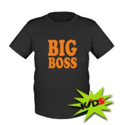 Купити Дитяча футболка Big Boss