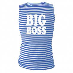 Купити Майка-тільняшка Big Boss