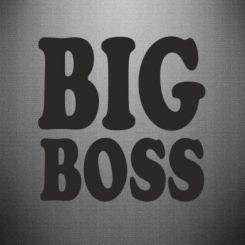 Купити Наклейка Big Boss