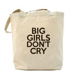 Сумка Big girls don't cry
