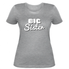 Жіноча футболка Big Sister