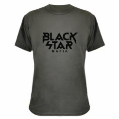 Камуфляжна футболка Black Star Mafia