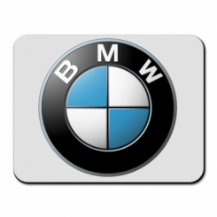 Коврик для мыши BMW Logo 3D