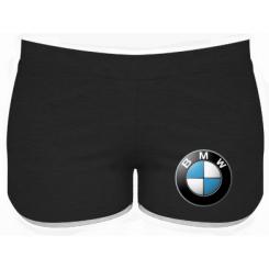 Женские шорты BMW Logo 3D